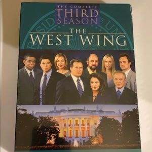 The complete third season The West Wing.
